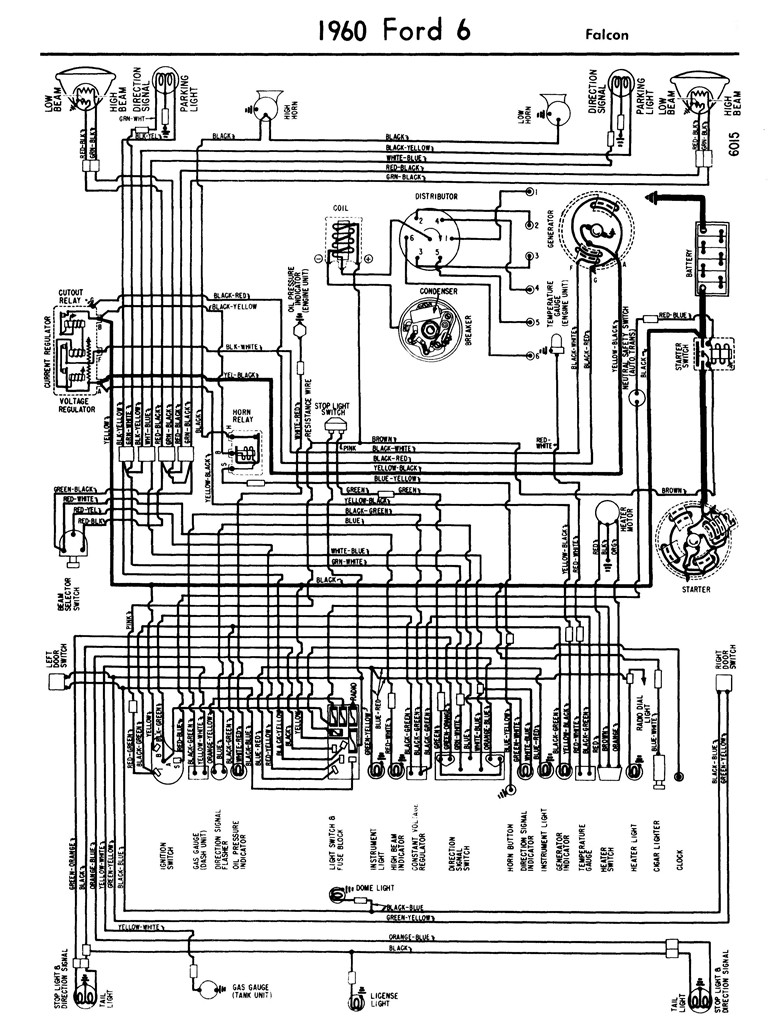 falcon wiring diagrams rh ranchero64us tripod com Ford Ranchero Wiring Diagrams 1963 Falcon Wiring-Diagram